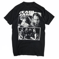 Made in USA / 1994  PEARL JAM Tee / Black / Used