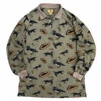 Duck Head / Duck & Fish Multi Polo Shirt / Used