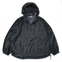 Woodlake / Packable Ripstop Nylon Anorak / Black / Used