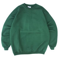 Made in USA / 90s Hanes / Solid Sweat / Green / Used