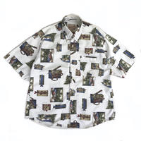 Woolrich / S/S B.D. Shirt / FIsh / Used