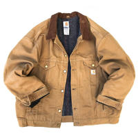 Made in USA / Carhartt / Blanket Lined Duck Jacket / Camel / Used