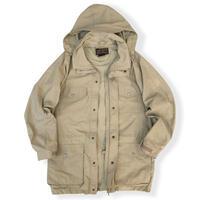80's Eddie Bauer / Mountain jacket / Beige S(M程度) / Used