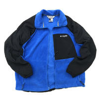"00s Columbia / ""VERTEX"" F/Z Fleece Jacket / Blue / Used"