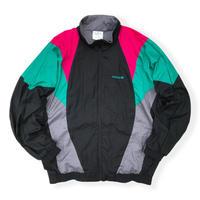 90's adidas / Crazy Pattern Sport Jacket / L / Vintage