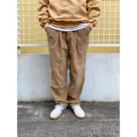 90s Eddie Bauer / 2 Tuck Corduroy Pants / Beige / Used