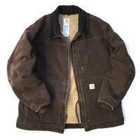 Carhartt / Corduroy Collar Duck Jacket / Brown / Used