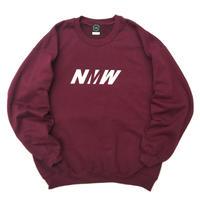 NERDY MOUNTAIN WORKS / NMW CREW SWEAT / Burgundy