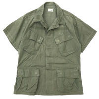 60s US ARMY / Jungle Fatigue Jacket 3rd S/S Custom / Non-Rip