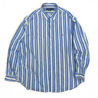 Polo Ralph Lauren / Cotton B.D. Striped Shirt / Blue×Yellow  / Used