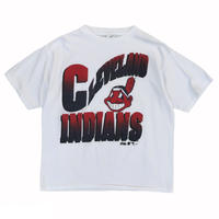 Made in USA / 1992's Indians / Official majestic Tee / White / Used