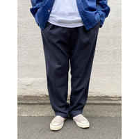 Polo Ralph Lauren / Linen Blend 2 Tuck Slacks / Navy / Used