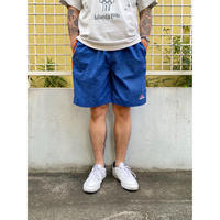 90's adidas / Embroidered Training Shorts / Blue / Used(L)