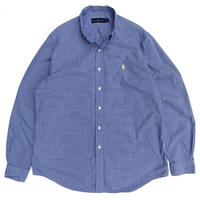 Polo Ralph Lauren / B.D. Check Shirt / Blue Check / Used