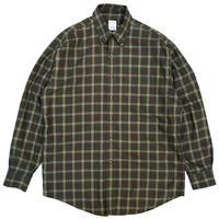BrooksBrothers / B.D. Checked Shirt /  Khaki / Used