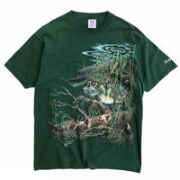 Made in USA / Wild Black Bass Tee / Olive / Used