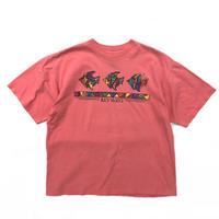 USA Graphic  Tee / Flamingo / Used