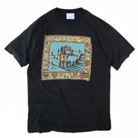 90s STONEHENGE Tee / Black / Used