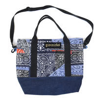 Tokyo Gimmicks / Patch Tote Bag / Multi