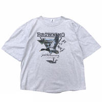 Made in USA / Browning / Duck Printed Tee  / Ash / Used