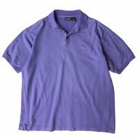 "2000's Patagonia / One Point Logo ""Organic Cotton"" Polo Shirt / Purple / Used"