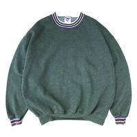JERZEES / Border Ribed Sweat / Forest / Used