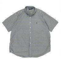 "Polo Ralph Lauren / Cotton B.D. Check Shirt""BLAKE"" / Navy × Yellow  / Used"