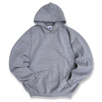 Made in USA / 90's Russell Athletic / Solid Hoodie / Grey XXL / Used