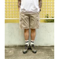 CHAPS by Ralph Lauren / Cotton Cargo Shorts  / Beige / Used(W34)
