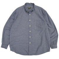00s Eddie Bauer / B.D Check Shirt / Navy / Used