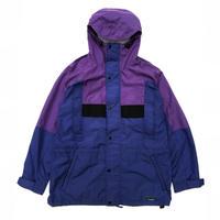 90's L.L.Bean / Sunbuster Nylon Jacket / Purple × Blue / Used