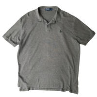 Polo by Ralph Lauren / One Point Logo Polo Shirt / Grey / Used