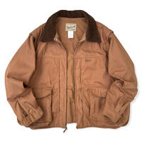 90's Woolrich / 2Way Padding Duck Hunting Jacket / Brown L / Used