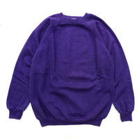Made in USA  / Hanes / Crew Neck Sweat / Purple / Used