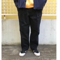 DOCKERS / Cotton 2Tuck Slacks  / Navy  / Used