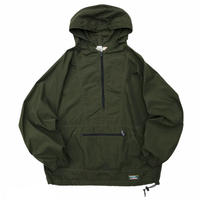 90s L.L.Bean / Nylon Anorak / Khaki / Used