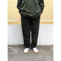 00s L.L.Bean / 2 Tuck Corduroy Pants / Deep Green / Used