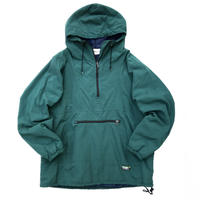 90s L.L.Bean / Padding Nylon Anorak / Forest / Used