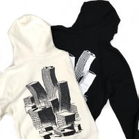 Voyage / Society Hooded Sweat / Black , Bone