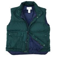 90's Eddie Bauer / Goose Down Vest  / Forest / Used