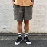 HIGH SIERRA / Cotton Tuck Shorts  / Olive / Used
