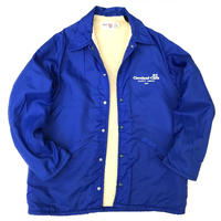 Made in USA / 80s King Louie / Boa Lined Nylon Coach Jacket / Blue / Used