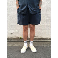 Polo Ralph Lauren / 2tuck Cotton Short  / Navy / Used