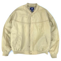 BLAIR / Padding Derby Jacket / Pale Yellow / Used