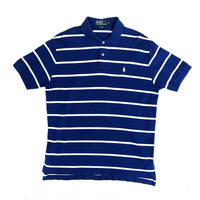 Polo Ralph Lauren / S/S Border Polo Shirt / Blue / Used