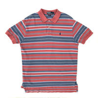 Polo Ralph Lauren / S/S Multi Border Polo Shirt / Used