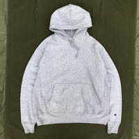 00s Champion / Reverse Weave Parka / Heather Gray / Used