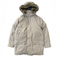 90s L.L.Bean / Goose Down Jacket / Ivory / Used