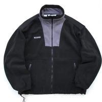 Columbia / Full Zip Fleece Jacket / Black / Used