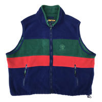 Made in USA / ERTEK by Eddie Bauer / Multi Color Fleece Vest  / Multi / Used